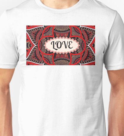 Love Pattern Unisex T-Shirt