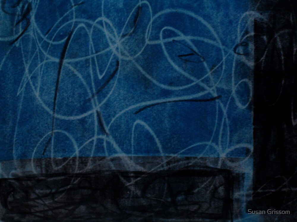 Blue loop by Susan Grissom