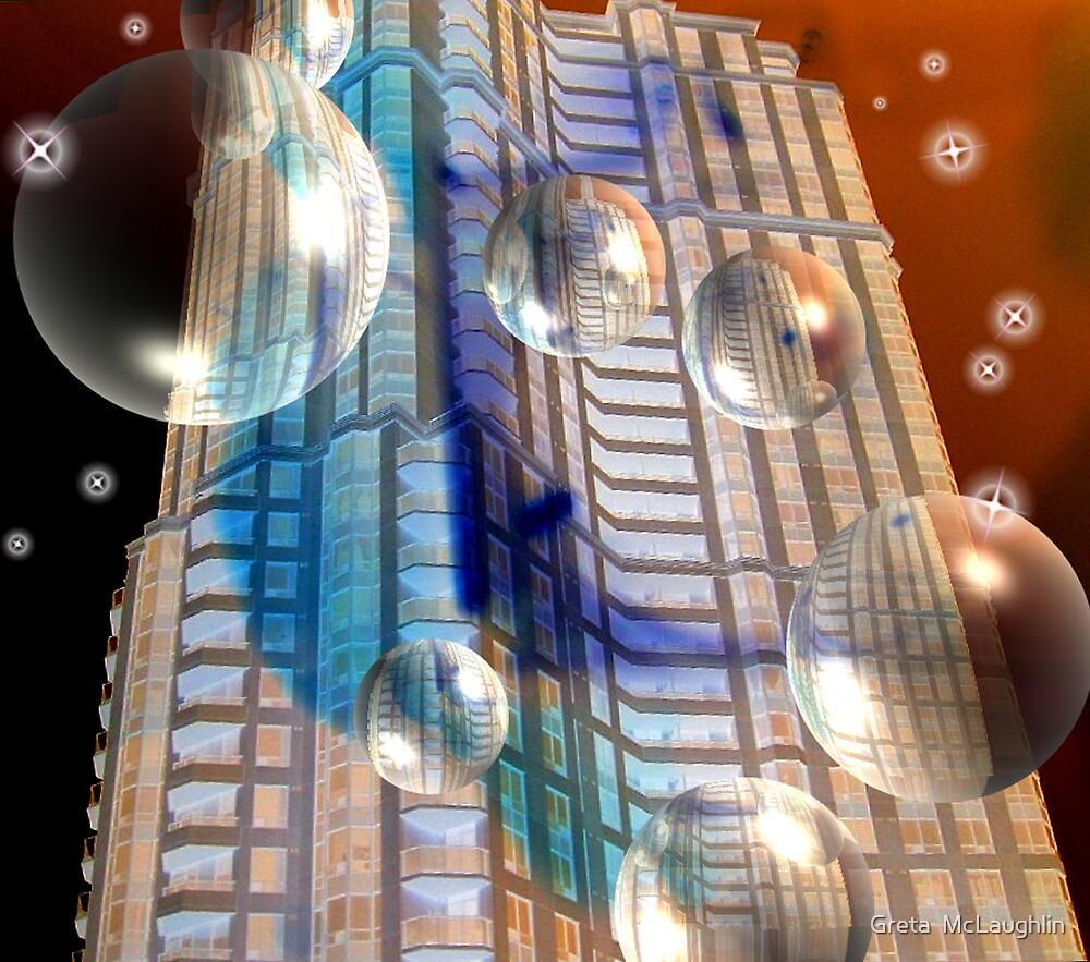 Bubble Dreams On The 401 by Greta  McLaughlin