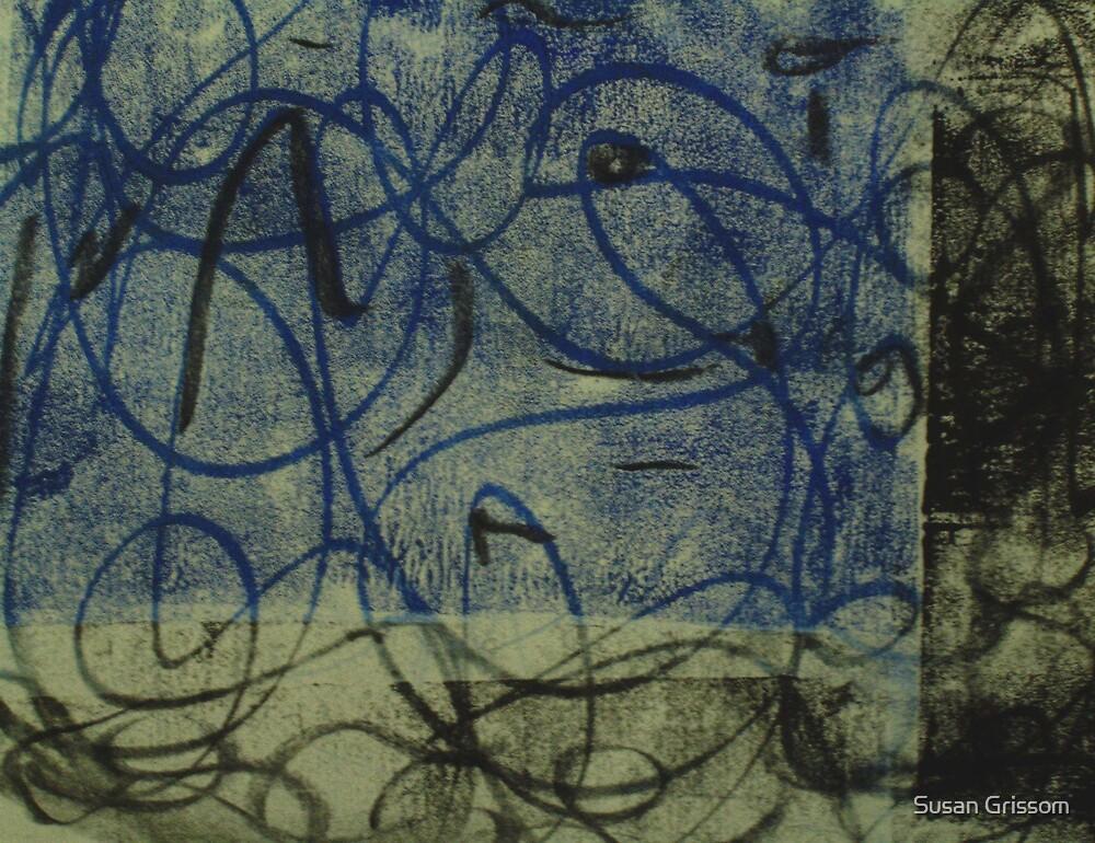 Blue loop II by Susan Grissom