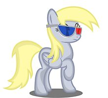 Derpy Hooves - 3D by Deltateam210