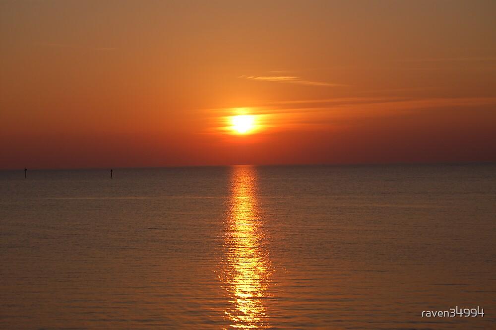 Sunset on Lake Okeechobee by raven34994