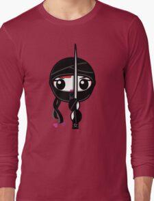 Kunoichi - Ninja Girl Long Sleeve T-Shirt