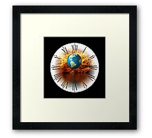 Global Warming Just A Matter Of Time Framed Print