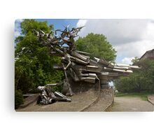 Monument to the Defenders of the Polish Post Office Metal Print