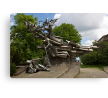 Monument to the Defenders of the Polish Post Office Canvas Print