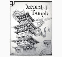 yakushiji temple by kelvin lee