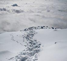 Mt. St. Helens - Clouds and Snow by RKastl