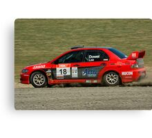 Slideways sweeper Canvas Print