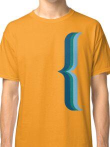 Bracket - Blue Classic T-Shirt