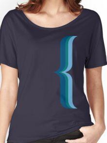 Bracket - Blue Women's Relaxed Fit T-Shirt