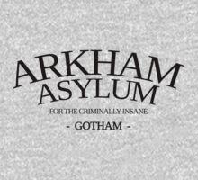 Inspired by Gotham - Arkham Asylum by davidtoms