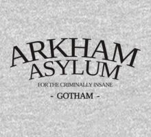 Inspired by Gotham - Arkham Asylum by davidtoms