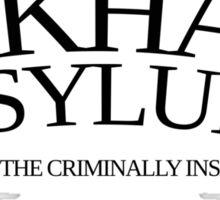 Inspired by Gotham - Arkham Asylum Sticker