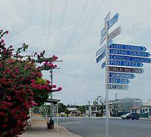 Main Street ,Wandoan Qld Australia by sandysartstudio