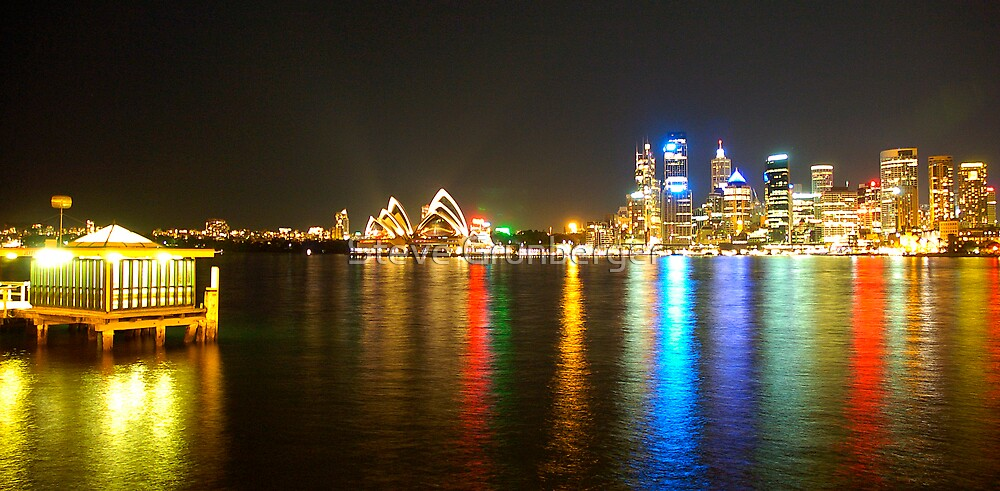 Sydney Harbour Reflections by Steve Grunberger