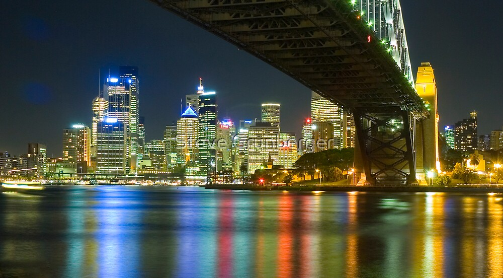 Sydney from Milsons Point by Steve Grunberger