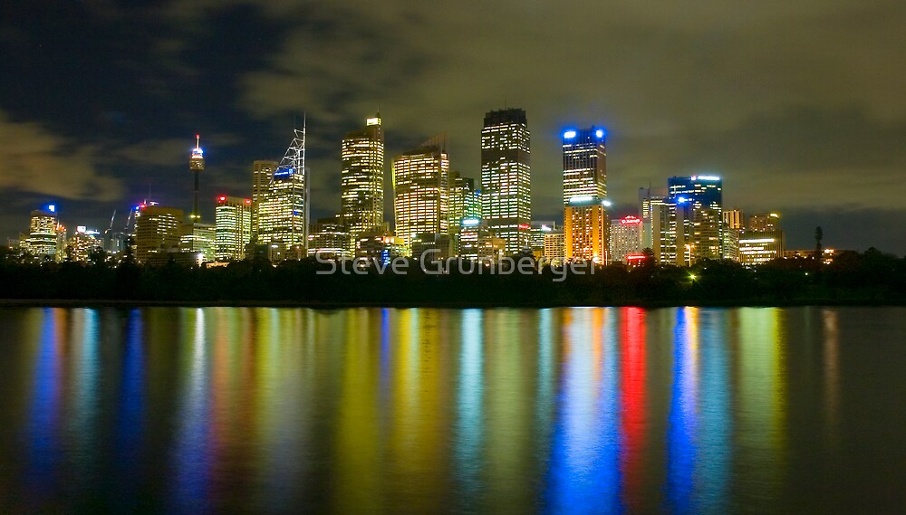 City Lights by Steve Grunberger