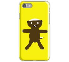Huggy Honey Badger Hugimal iPhone Case/Skin