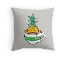 TeaHC Throw Pillow