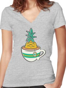 TeaHC Women's Fitted V-Neck T-Shirt