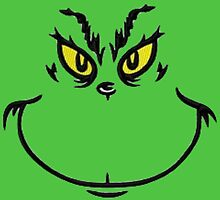 Grinch Face by makattack1206