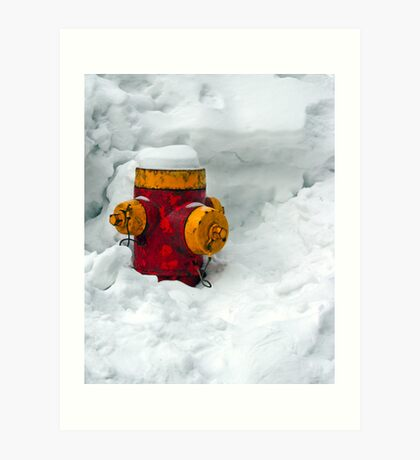 Fire & Ice Art Print