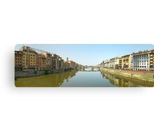 Florence from Ponte Vecchio Canvas Print