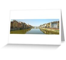 Florence from Ponte Vecchio Greeting Card