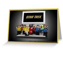 Star Trek TOS (LDD Version) Greeting Card