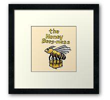 Honey Bees-ness Framed Print