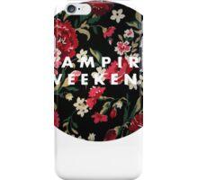 Vampire Weekend Floral iPhone Case/Skin