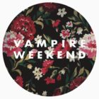 Vampire Weekend Floral by chngalexa