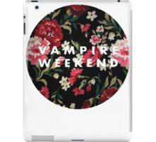 Vampire Weekend Floral iPad Case/Skin