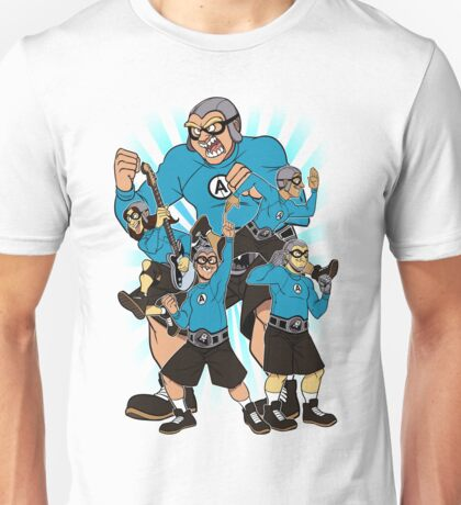 The Aquabats In Action Unisex T-Shirt