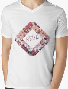 The NBHD Floral Mens V-Neck T-Shirt