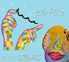 ASL Reach for your Dreams by EloiseArt