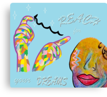 ASL Reach for your Dreams Canvas Print
