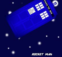 Doctor Who Rocket Man by Aboxalypse