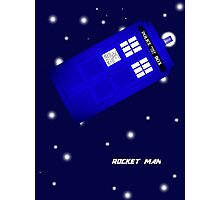 Doctor Who Rocket Man Photographic Print