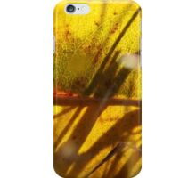 Walking along the yellow leaf road iPhone Case/Skin