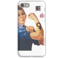 """Rosie the Riveter """"We Can Do It"""" iPhone Case/Skin"""