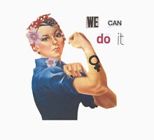 "Rosie the Riveter ""We Can Do It"" Unisex T-Shirt"
