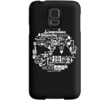 Depeche Mode : DM Logo 2013 - With old logo 2 - White Samsung Galaxy Case/Skin
