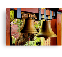 """""""The Mission Bells"""" Canvas Print"""