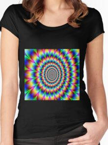 Hypnotic Women's Fitted Scoop T-Shirt