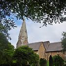 Church Of St Mary The Virgin, Biscovey by lezvee