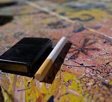 Cigarette  by Rebecca  D'alessandro