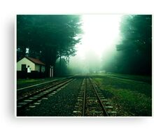 No Trains Canvas Print
