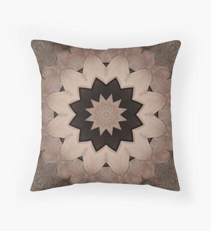 Dark Lotus Throw Pillow